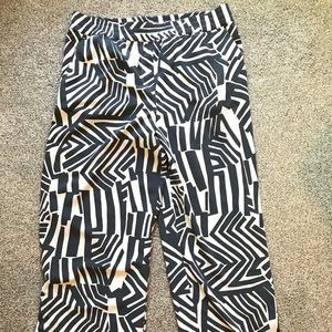LOFT geometric lounge pants